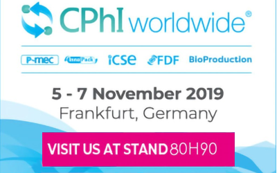 eubioco na CPhI Worldwide 2019. Odwiedź nas na stoisku 80h90