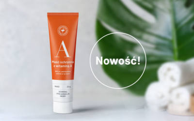 Protective ointment with vitamin A
